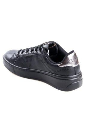 US Polo Assn Unisex Çocuk Siyah Extra Sneaker Spor Ayakkabı 2