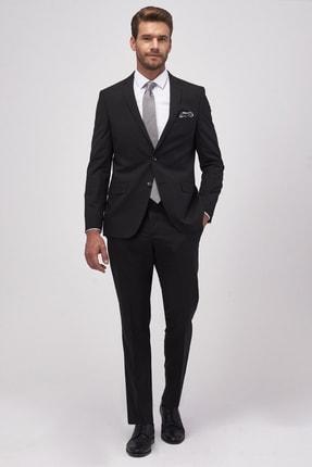 Altınyıldız Classics Erkek Siyah Slim Fit Takım Elbise 1