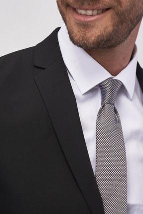 Altınyıldız Classics Erkek Siyah Slim Fit Takım Elbise 4