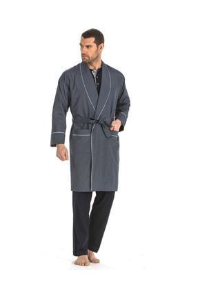 Pierre Cardin 5 Li Uzun & Şortlu Pijama Robdöşambır Damat Çeyiz Seti 5560 1