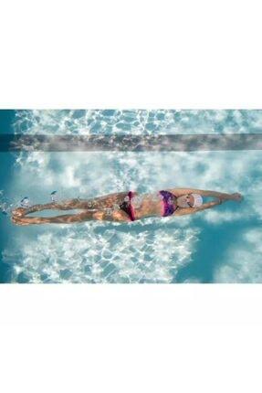 JADE Kalın Kenarlı Şık Bikini Altı Mor 2