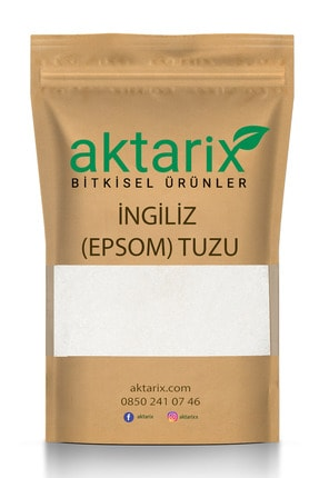aktarix Yenilebilir Ingiliz Tuzu - Epsom Salt -magnezyum Sülfat 3 Kg 0