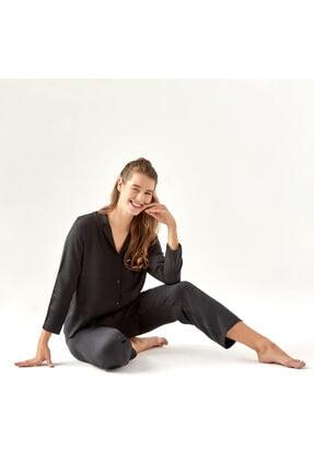 Bella Maison Spark Siyah Pijama Üstü 2