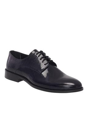 Altınyıldız Classics Erkek Lacivert Klasik Rugan Ayakkabı 0