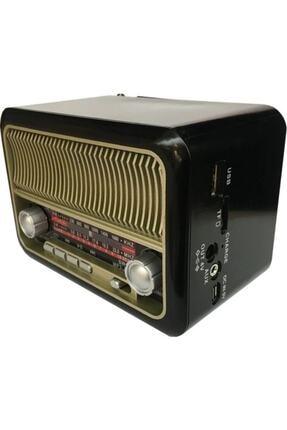 Nostaljik Klasik Radyo Müzik Kutusu Bluetoothlu Mp3 Çalar Fm Radyo RADYO ÇALAR 076
