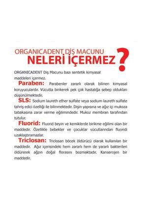 Organicadent Unisex Çocuk Doğal 50 Ml  Diş Macunu Florürsüz 1