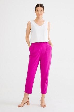 Kadın Fusya Pilili Pantolon resmi