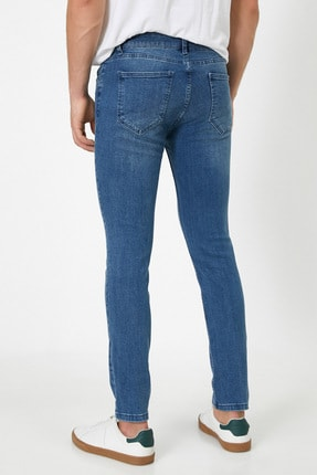 Koton Erkek Mavi Pantolon 3