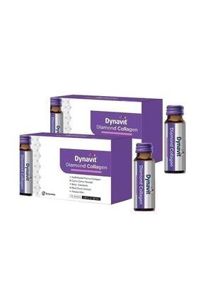Dynavit Diamond Collagen 50 Ml X 10 Şişe X 2 Adet 0