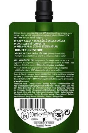Gliss Schwarzkopf Gliss Bio-Tech Haftalik Bakim  Terapisi 50 Ml 2