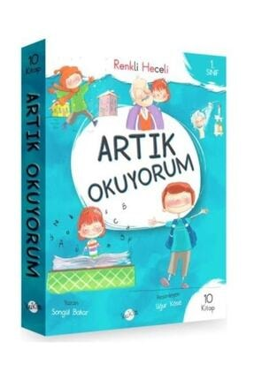 Kukla Yayınları Artık Okuyorum Serisi (Renkli Heceli) 1. Sınıf - 10 Kitap 0