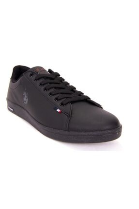 US Polo Assn FRANCO DHM Siyah Kadın Sneaker Ayakkabı 100548977 0