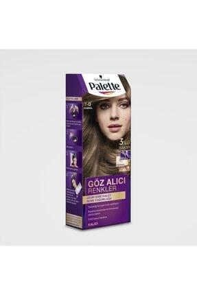 Palette Göz Alıcı Renkler Kumral (7.0) Saç Boyası 2