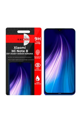 KaeMoon Xiaomi Redmi Note 8 Ekran Koruyucu Hd Netlikte Temperli Ekran Koruyucu Cam (2 Paket) 0