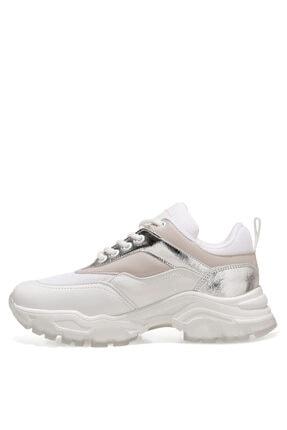 Nine West LISSOU 1FX Beyaz Kadın Sneaker 101028946 3