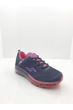 Jump Kadın Mor Air Tabanlı Günlük Spor Ayakkabı 0