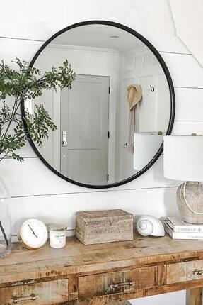LYN HOME & DECOR Lyn Dekoratif Konsol Aynası Siyah 1