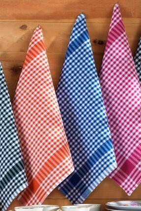 Binnur Home Elegance 8 Adet 4 Renk 50x70 Mutfak Kurulama Bezi Bulaşık Kurulama Bezi 3