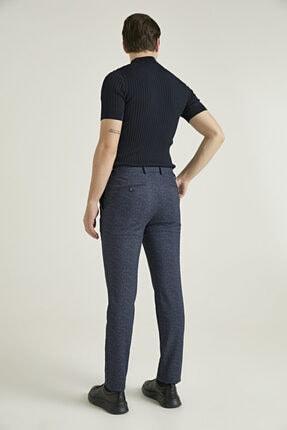 D'S Damat Slim Fit Lacivert Sihirli Kumaş Pantolon 3