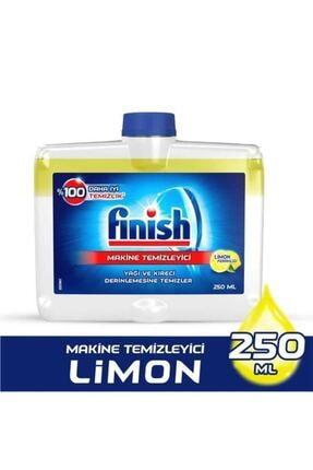 Finish Bulaşık Makinesi Temizleyici Sıvı Limon 250 Ml + Marc Çamaşır Makine Temizleyici 250 ml 2