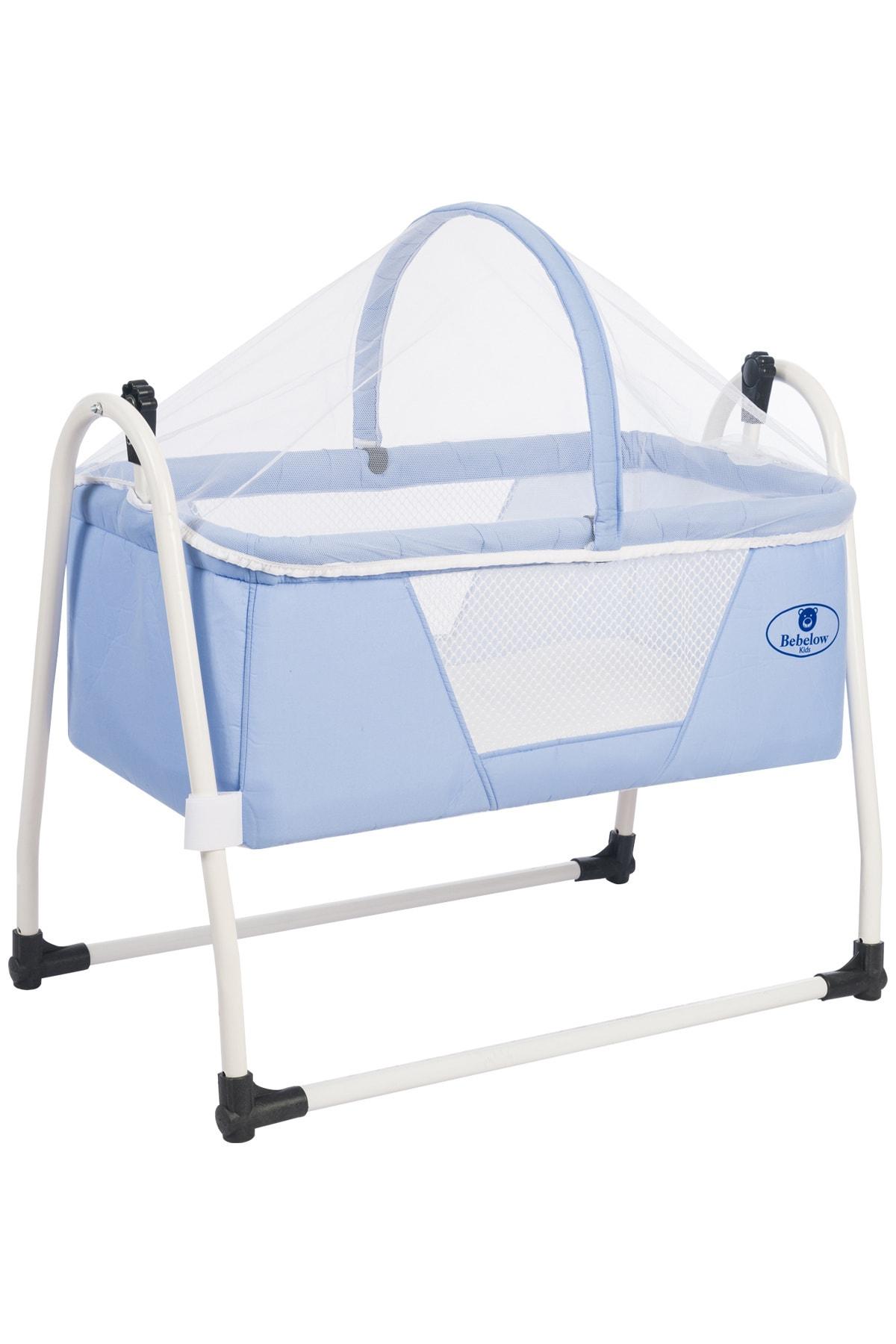 Sobee Portatif Kurulumlu Sabitlenebilir Lüks Sallanır Bebek Beşik