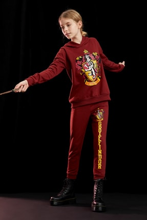 Defacto Kız Çocuk Harry Potter Lisanslı Sweatshirt 1