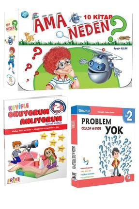 5 Renk Yayınları 2. Sınıf Hikaye Seti Ama Neden (10 Kitap) +key Okuma Anlama + Mutlu Problem Yok Kitabı 0