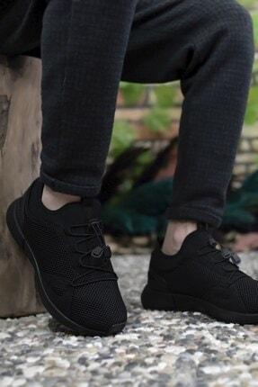 Riccon Erkek Siyah Sneaker 00121925 3