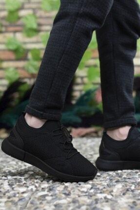 Riccon Erkek Siyah Sneaker 00121925 4