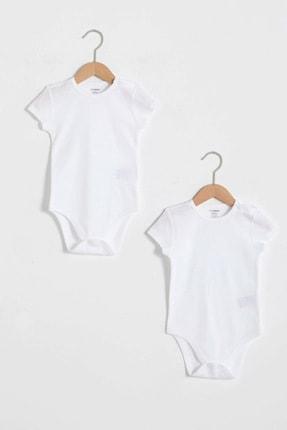 LC Waikiki Erkek Bebek Optik Beyaz Ffb Bebek Body & Zıbın 0