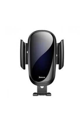 Baseus Siyah Future Gravity Serisi Cam Yüzey Araç İçi Havalandırma Telefon Tutucu 0