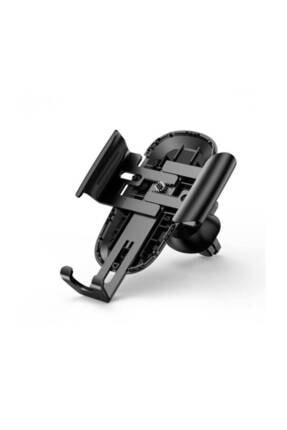 Baseus Siyah Future Gravity Serisi Cam Yüzey Araç İçi Havalandırma Telefon Tutucu 4