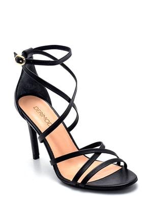Derimod Kadın Deri Topuklu Ayakkabı 1