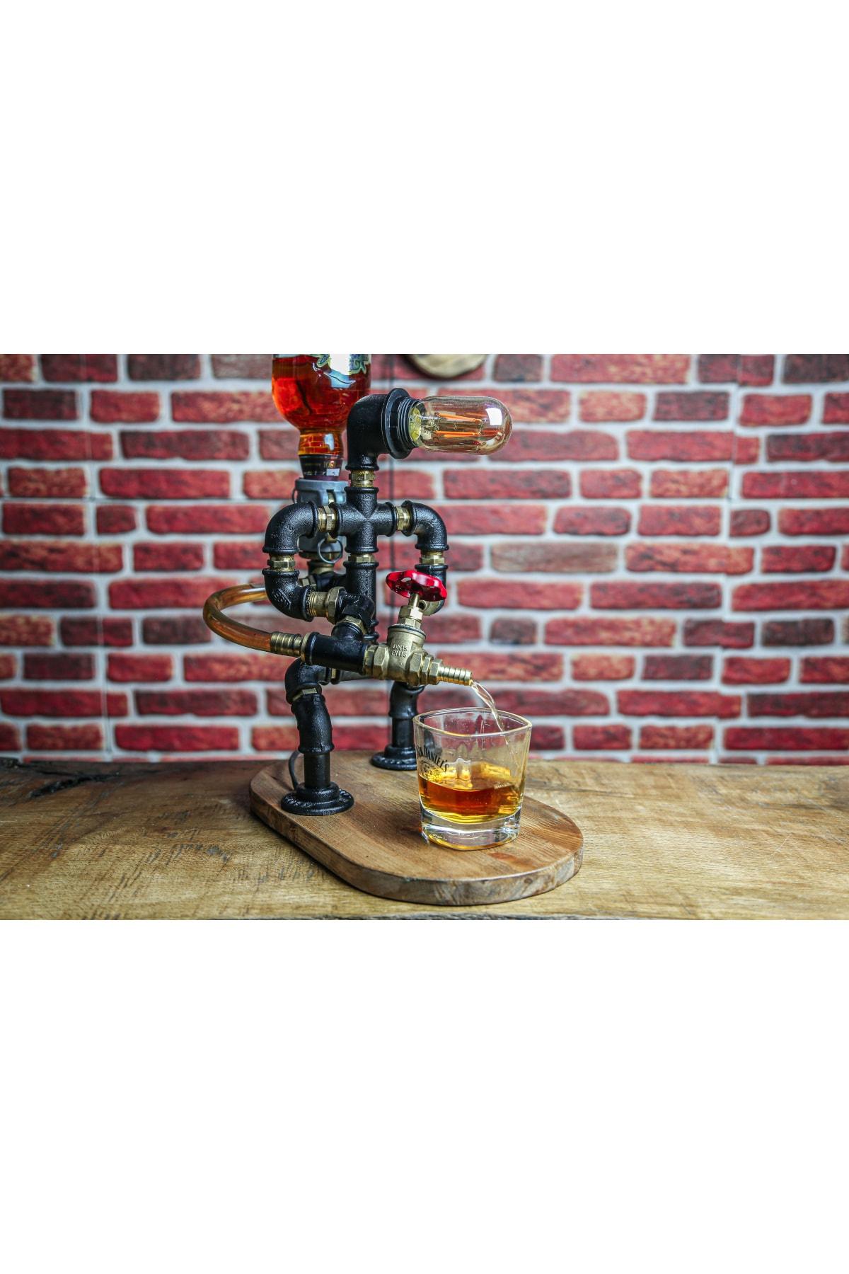 Itfaiyeci Tasarım Viski Rakı Çeşmesi
