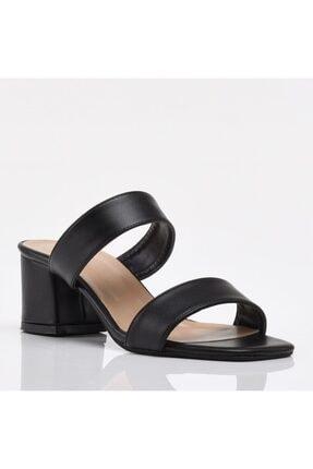 Hotiç Siyah Yaya Kadın Sandalet & Terlik 2