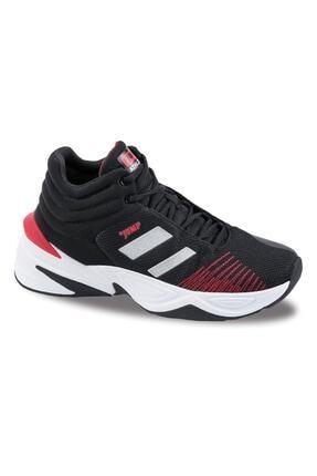 Jump Unisex Siyah Günlük Ortopedik Basketbol Spor Ayakkabısı 1
