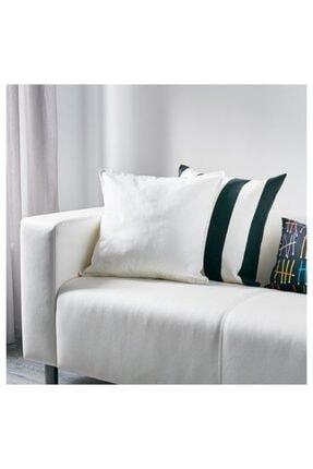 IKEA Beyaz Fermuarlı Yastık Kılıfı 2