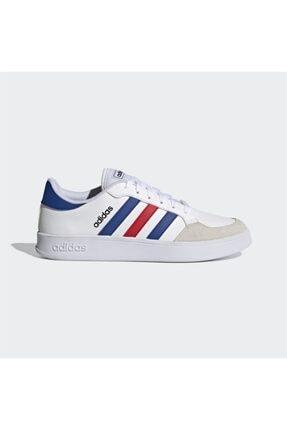 adidas BREAKNET Beyaz Erkek Sneaker Ayakkabı 101079837 0