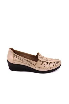 Forelli Kadın Bej Comfort Ayakkabı 26202 1