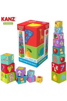 Kanz Eğitici Denge Kule Oyunu Eğitici Çocuk Oyuncağı Oyuncak 1