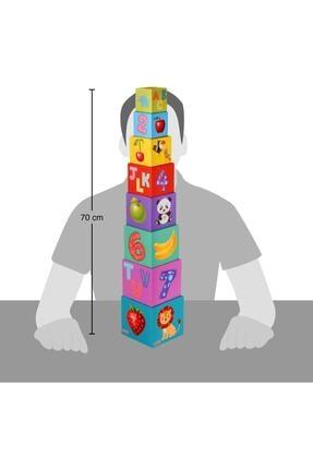 Kanz Eğitici Denge Kule Oyunu Eğitici Çocuk Oyuncağı Oyuncak 4
