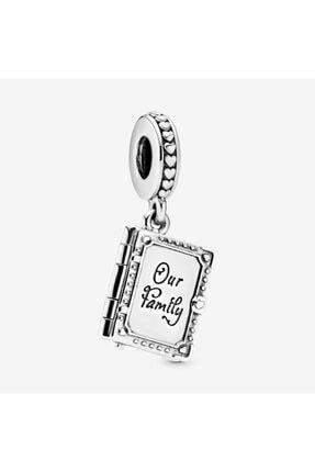 My Story Aile Kitabı Sallantılı Gümüş Charm 0