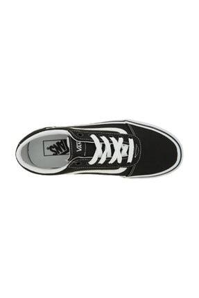Vans Wm Ward Platform Siyah BEYAZ Kadın Ayakkabı 100394210 2
