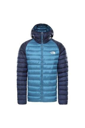 The North Face Trevail Hoodie Erkek Mavi Outdoor Mont Nf0a39n4sf61 0