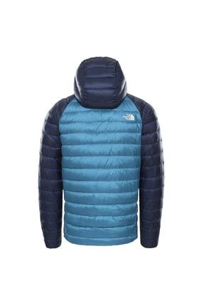 The North Face Trevail Hoodie Erkek Mavi Outdoor Mont Nf0a39n4sf61 1