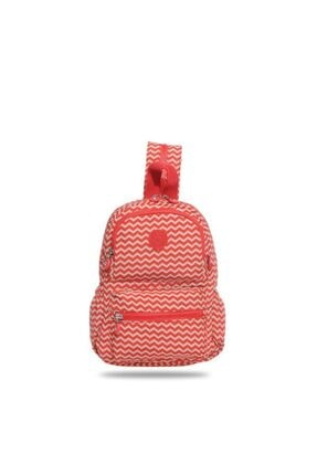 Smart Bags Kadın Kırmızı Küçük Boy Kırzag Sırt Çantası 1030 134 0