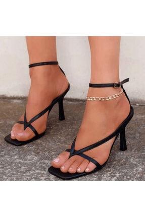 Giydim Gidiyor Jen Topuklu Sandalet 0