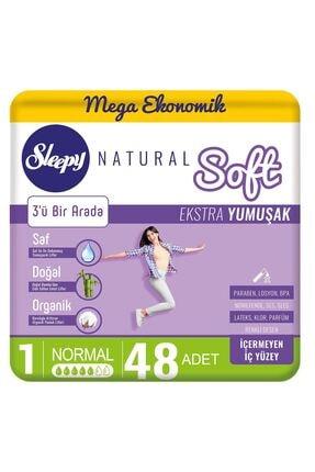 Sleepy Natural Soft Ekstra Yumuşak Normal 48 Ped 0