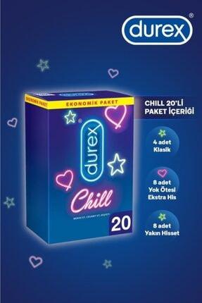 Durex Chill Karma Prezervatif Ekstra Avantaj Paketi 40'lı 3