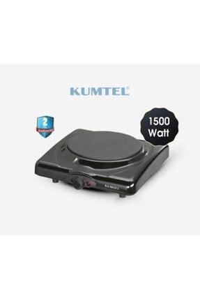 KUMTEL Lx-7115 Siyah Tekli Elektrikli Ocak Ayarlanabilir Termostatlı Elektrikli Ocak 0